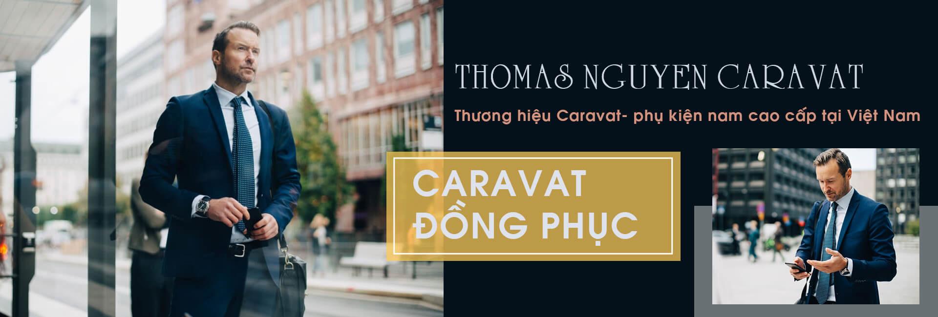 Banner may cà vạt đồng phục - Thomas Nguyen