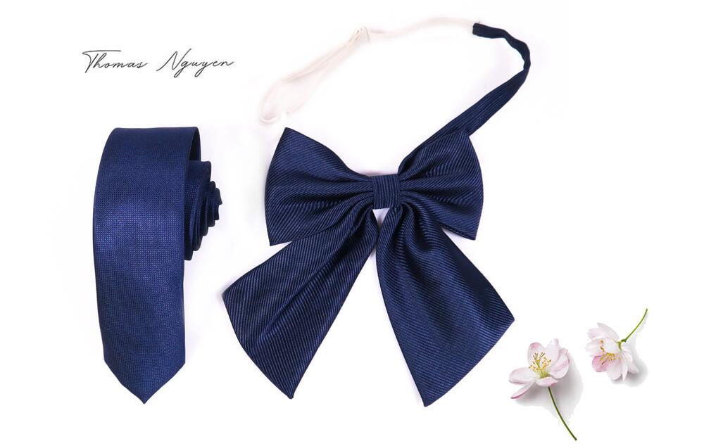 Bộ nơ và cà vạt đồng phục tại Thomas Nguyen