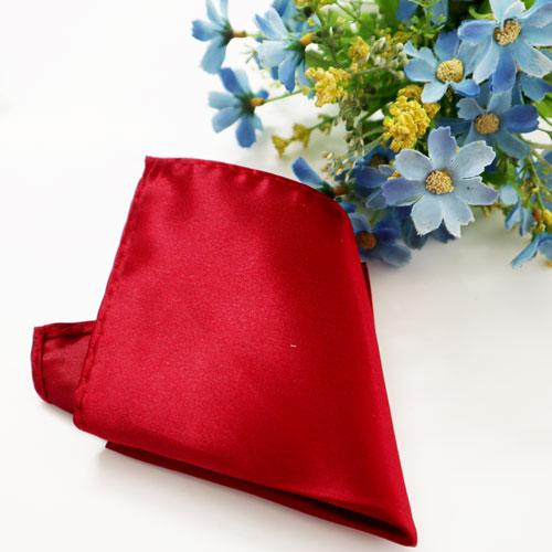 Khăn bỏ túi áo vest đỏ trơn