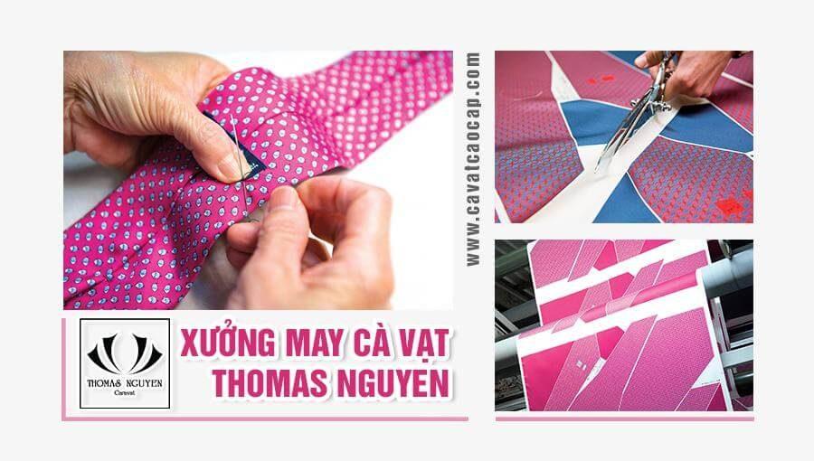 Xưởng may cà vạt Thomas Nguyen | Thương hiệu tin cậy cho quý ông