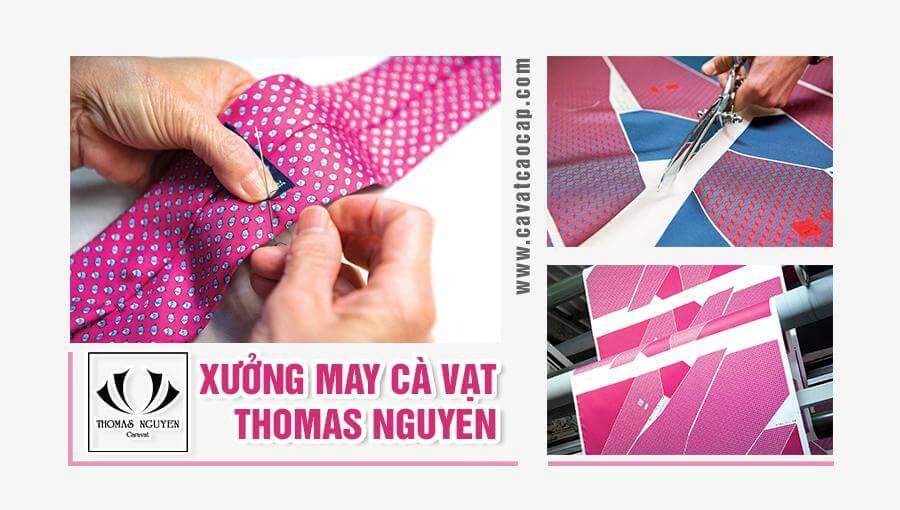 XƯởng may cà vạt Thomas Nguyen