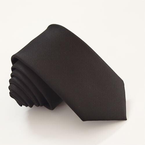 Cà vạt đồng phục màu đen