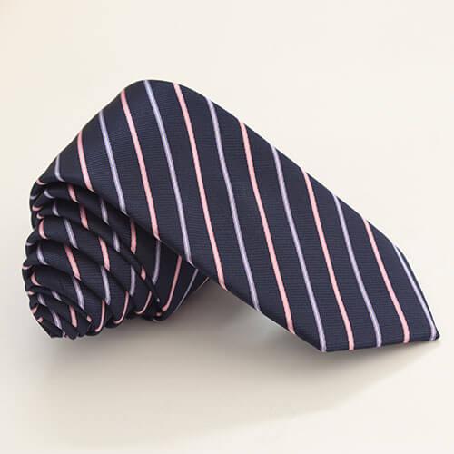 Cà vạt xanh kẻ sọc 2 màu