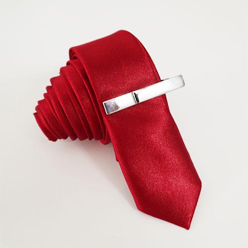 Caravat 3cm màu đỏ
