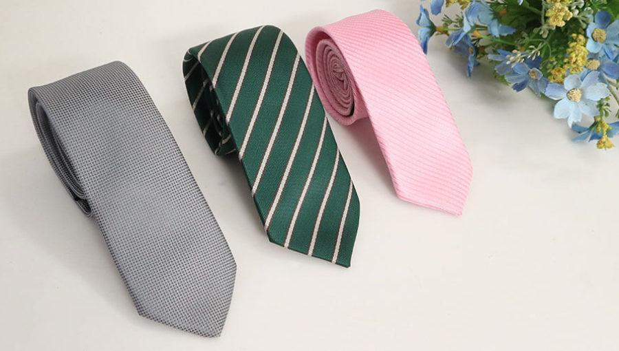 Cà vạt bản nhỏ – Sức hút của quý ông thanh lịch