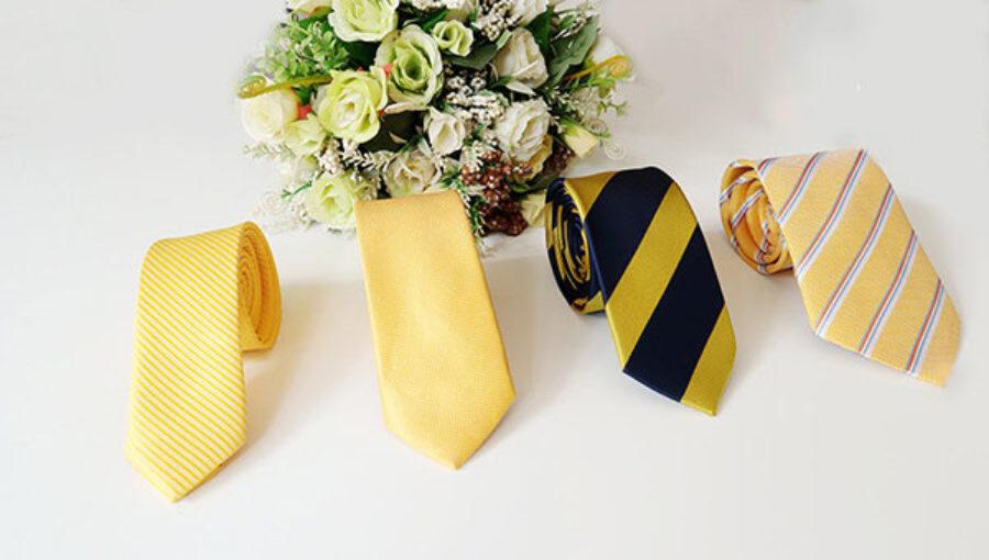 Cà vạt vàng | Điểm nhấn nổi bật cho trang phục