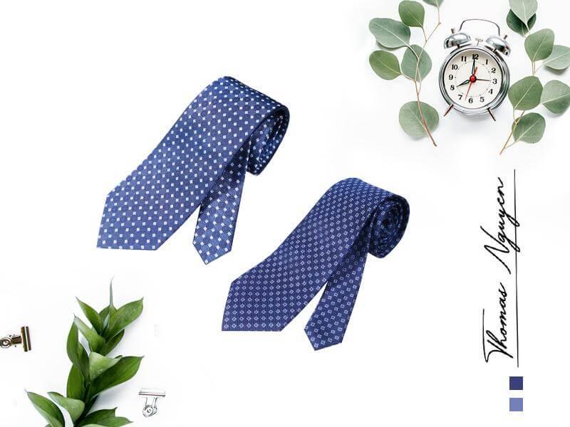 Cà vạt lụa tơ tằm 100% Thomas Nguyen