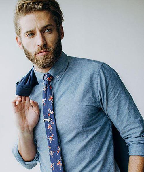 cà vạt theo màu