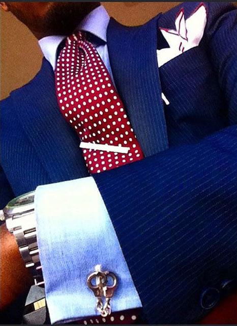 Kẹp cà vạt style Sprezzatura