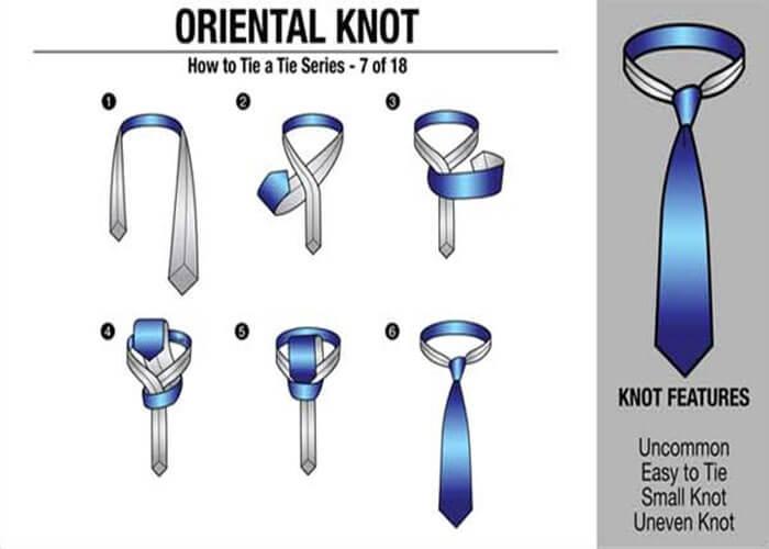 Cách thắt cà vạt Simple