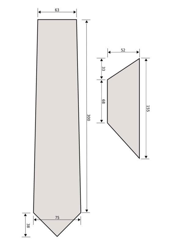 Mẫu thiết kế cà vạt