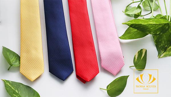 Mẫu cà vạt đồng phục tại Thomas Nguyen