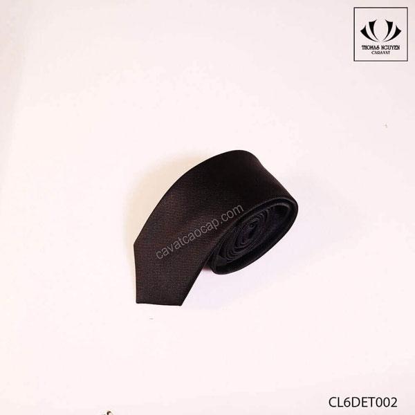 Cà vạt nam bản nhỏ đen