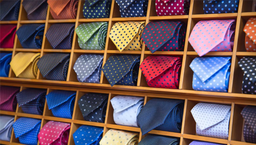 Cà vạt lụa tơ tằm   Dấu ấn khẳng định độ lịch lãm của quý ông