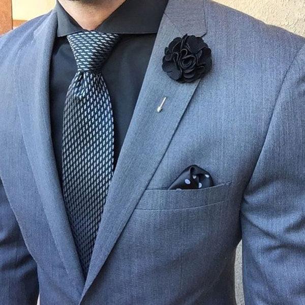Ghim áo vest và cà vạt