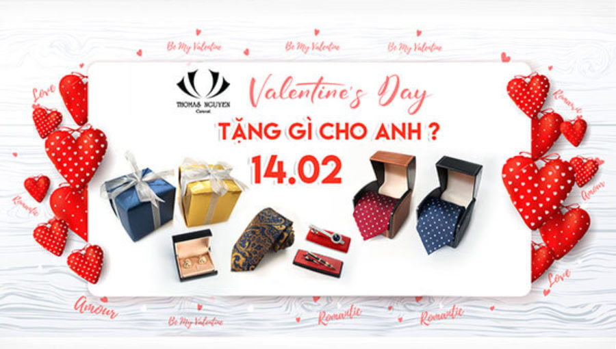 Valentine Day – Tặng gì cho anh?