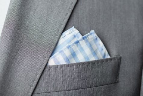 gấp khăn áo vest