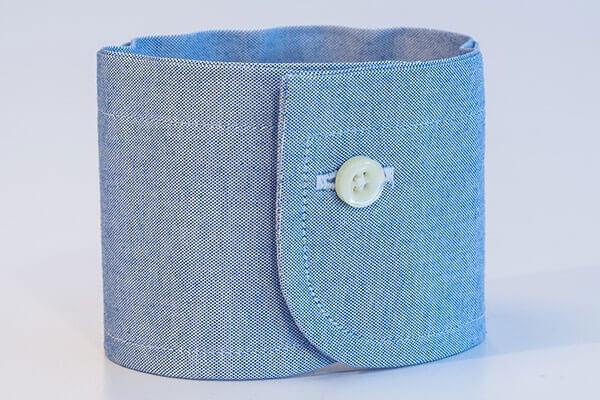 One-buttoned barrel ( cổ tay áo măng séc một khuy )