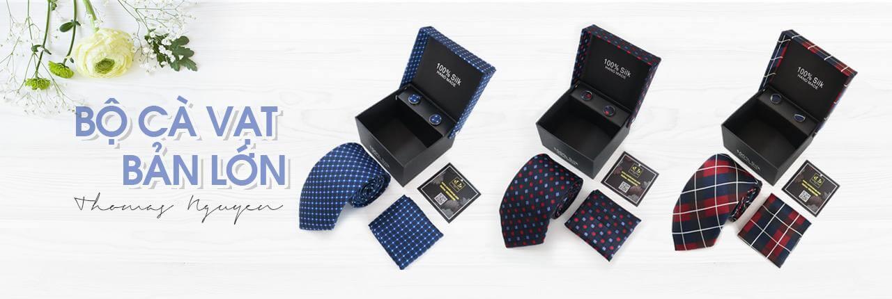 Bộ cà vạt bản lớn
