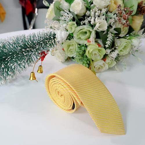 Cà vạt dệt gân