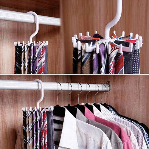 bảo quản cà vạt hằng ngày