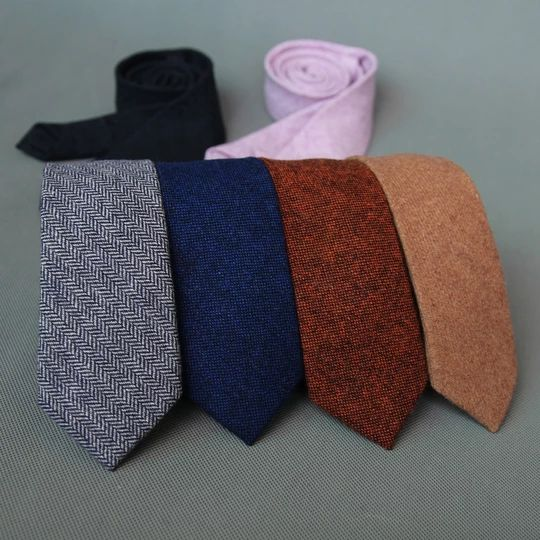 Caravat Hàn Quốc từ cashmere