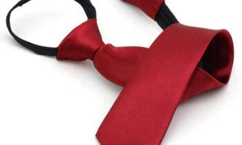 Cavat dây kéo màu đỏ thẫm Thomas Nguyen