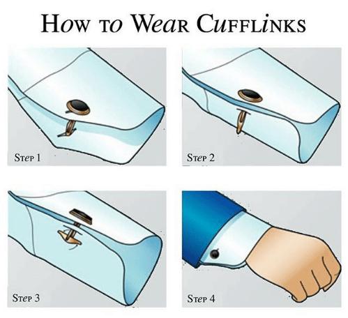 4 thao tác đeo măng sét nhanh và chuẩn