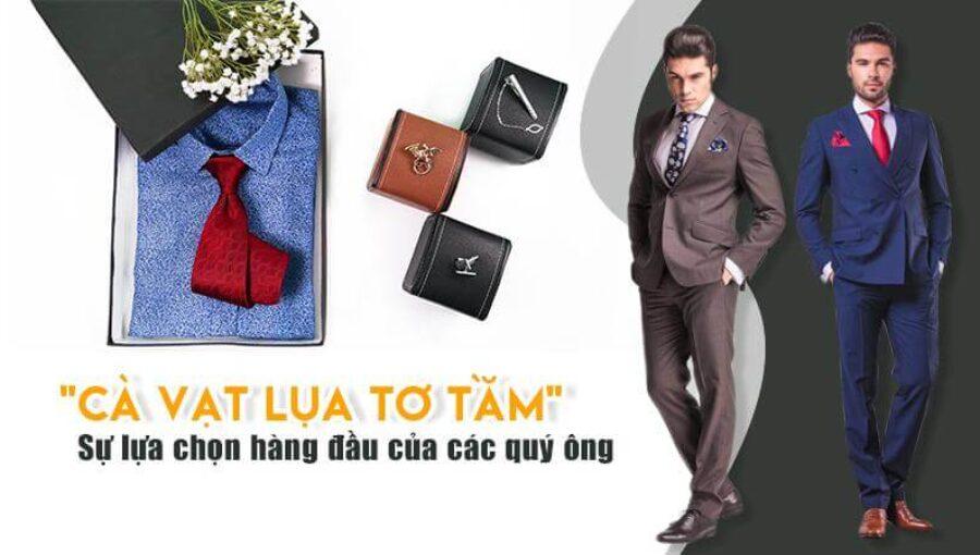 Cà vạt lụa tơ tằm 100% cao cấp – Sự lựa chọn hàng đầu của các quý ông
