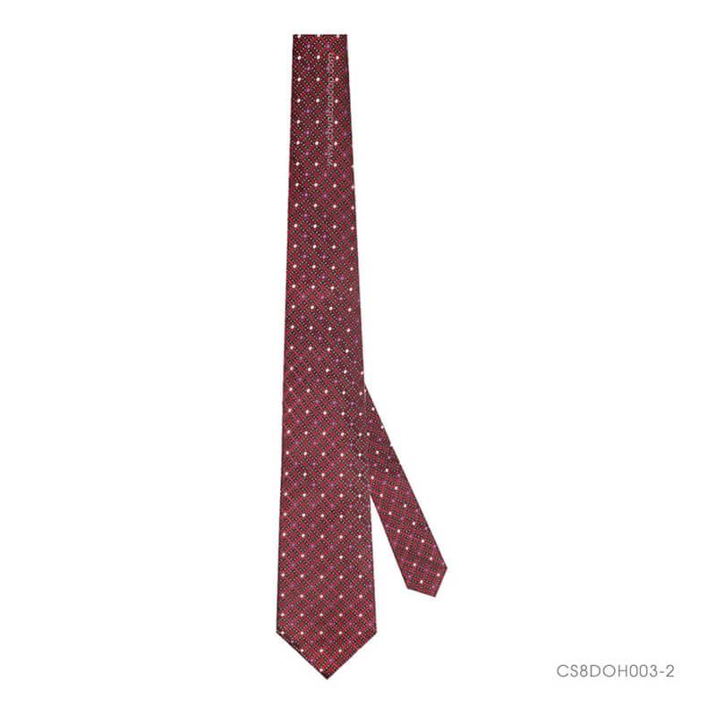 Đường khâu của chiếc cà vạt nam cao cấp