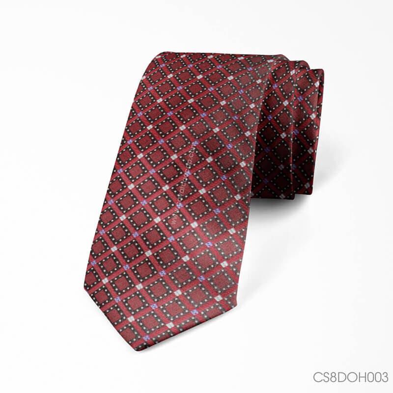 Chọn mẫu cà vạt đỏ Thomas Nguyen phối cùng vest