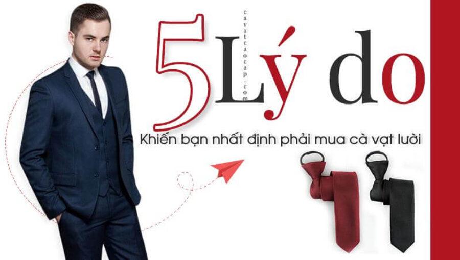Cà vạt lười & 5 lý do khiến bạn nhất định phải sở hữu ít nhất một chiếc