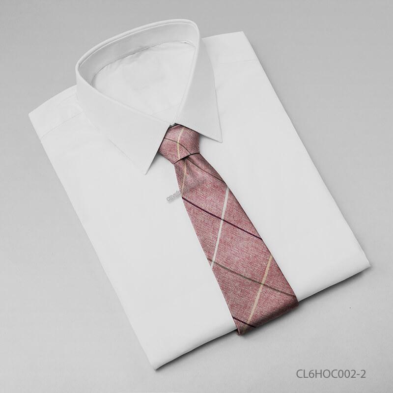 Cà vạt nam Hàn Quốc kẻ sọc xiên màu sắc