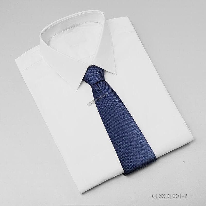 Mẫu cà vạt nam Hàn Quốc trơn màu