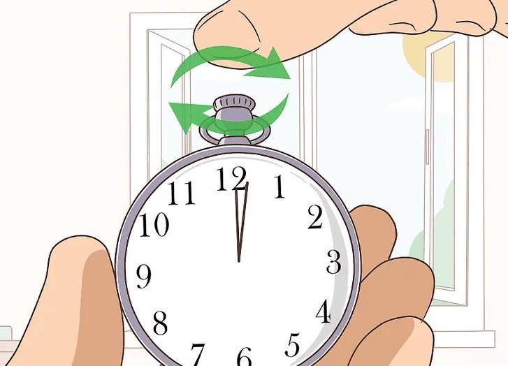 Cách chỉnh giờ cho đồng hồ quả quýt