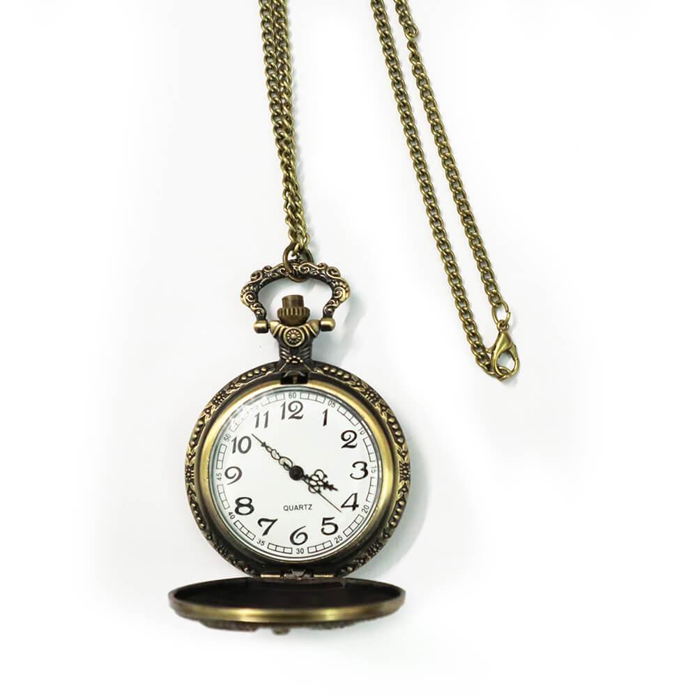 Đồng hồ quả quýt có vỏ nắp
