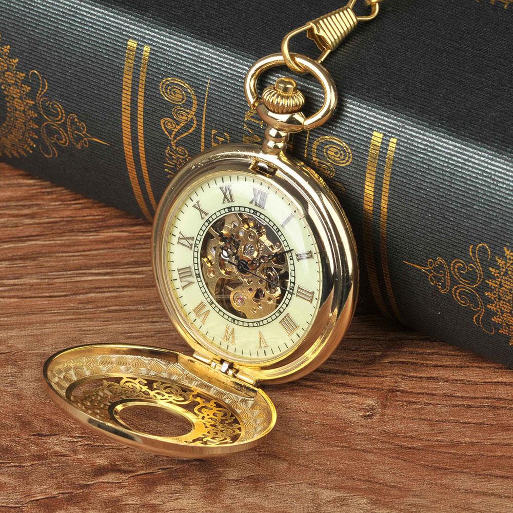 Đồng hồ quả quýt chạy bằng cơ lên dây cót Thomas Nguyen