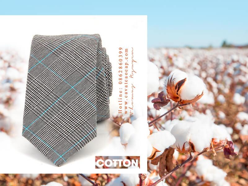 Chất liệu cotton thiên nhiên của xu hướng thời trang bền vững