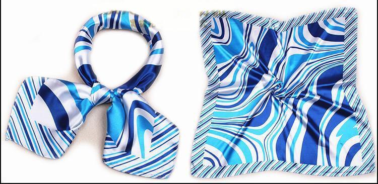 Nút thắt khăn turban 2 lần