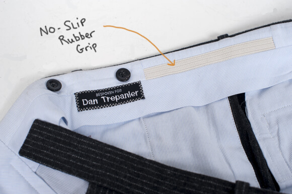 Đệm băng cao su cố định áo sơ mi