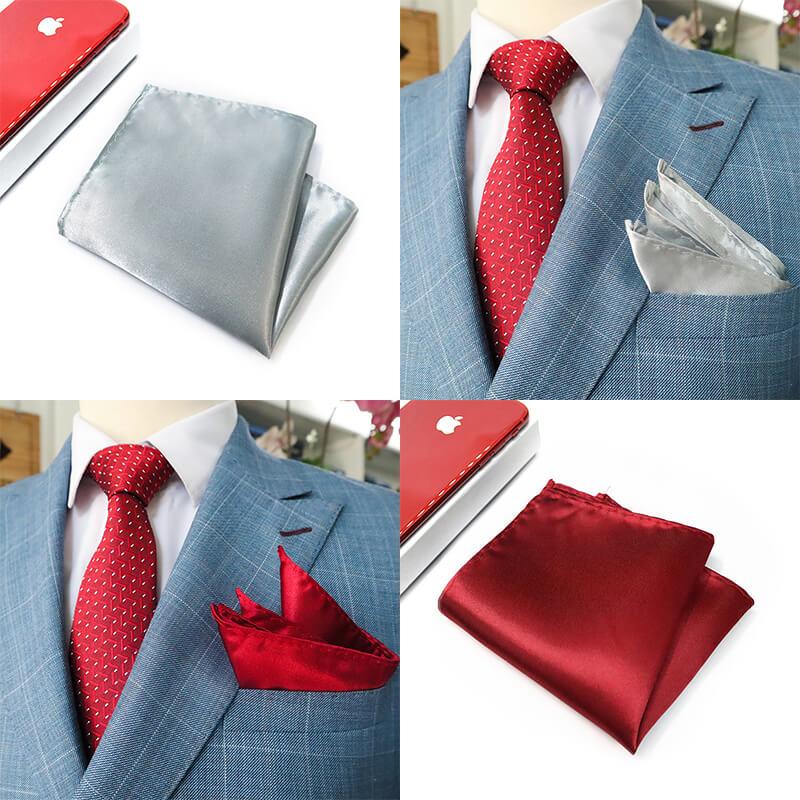 Nên dùng khăn cài túi áo vest nam màu gì?