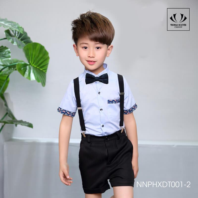 Dây đai chữ Y - phụ kiện thời trang cho bé trai khoảng 10 tuổi