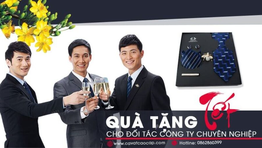 Quà tặng tết cho đối tác công ty chuyên nghiệp và phù hợp