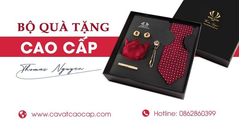 quà tặng đối tác Cà vạt Thomas Nguyen