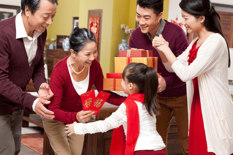 chia sẻ kinh nghiệm tặng quà tết cho bố mẹ