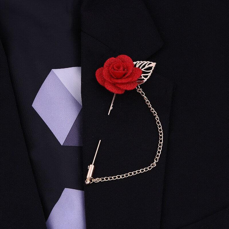 Ghim áo vest - biểu tượng của sự sang trọng