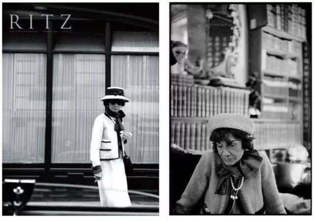 Biểu tượng Coco Chanel mặc chiếc áo sơ mi có thắt nơ
