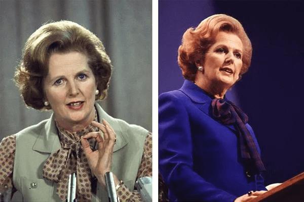 Margaret Thatcher - nữ Thủ tướng đầu tiên của Vương quốc Anh thích nơ