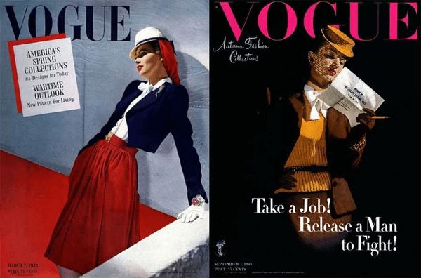 Nơ cài cổ áo sơ mi nữ chiếm vị trí quan trọng trong thời trang công sở, bằng chứng là những chiếc bìa VOGUE