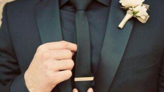 Hướng dẫn cách chọn ghim cài cà vạt cho ngày trọng đại của chú rể